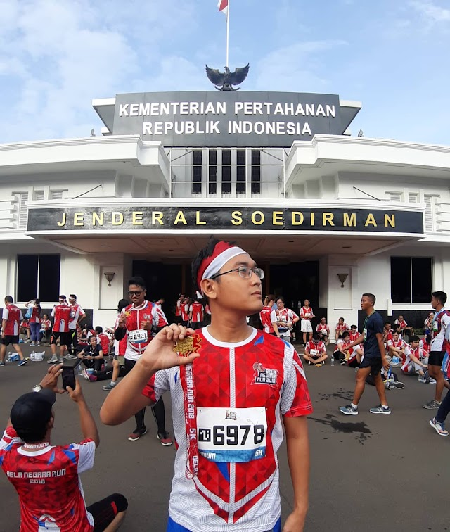 Berlari dengan Semangat Bela Negara