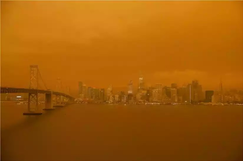 Oι δυτικές ΗΠΑ καίγονται: Κόκκινος ο ουρανός στην Καλιφόρνια φόβοι για πολλούς νεκρούς