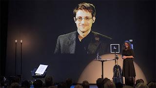 Video conferencia Edward Snowden