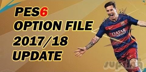 Download Update Pemain Option File PES 6 Full Transfer