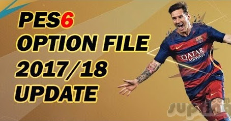 Download Update Pemain Option File PES 6 Full Transfer