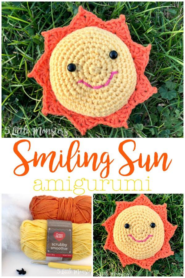 Easy Crochet Sunshine Amigurumi - YouTube | 900x600