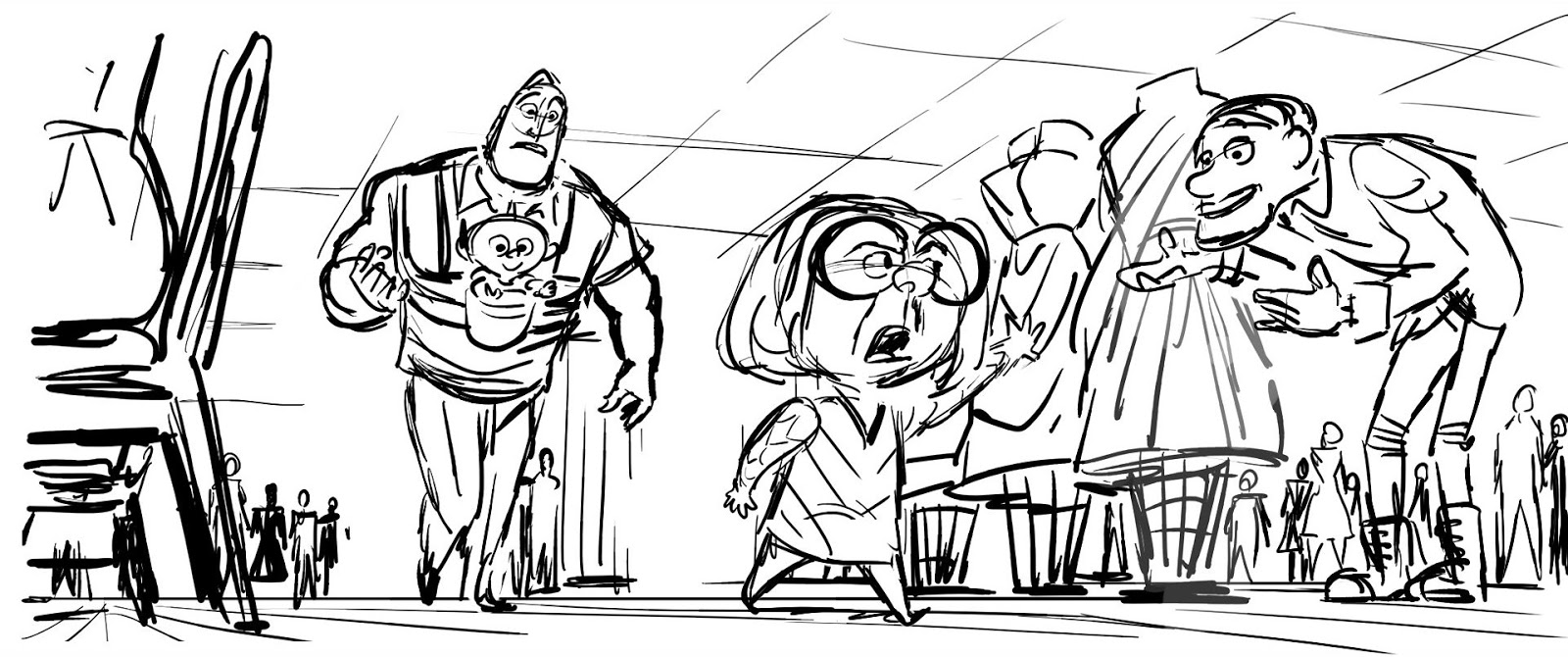 Get A Sneak Peek At Several Special Features Deleted Scenes From The Incredibles 2