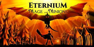 Eternium mage and minions