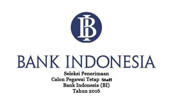 BANK INDONESIA : APLIKASI SUPPORT, DATABASE ADM DAN ENGINEER VENDOR - INDONESIA