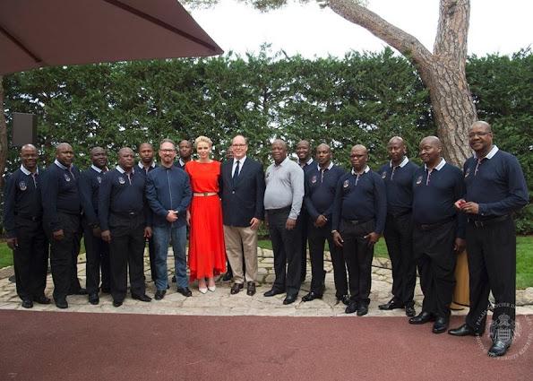 Leonardo DiCaprio Foundation Gala in Saint Tropez, 68th Monaco Red Cross Gala, South African Red Cross Society, Princess Charlene named godmother