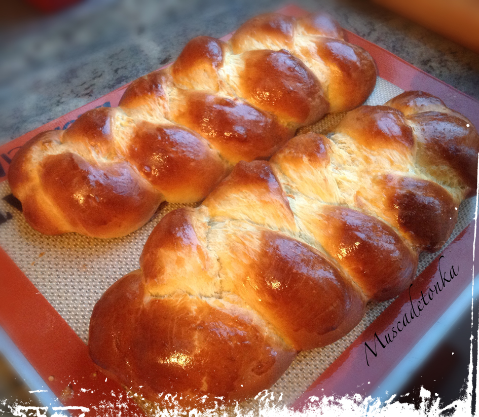 Cuisine From France And Elsewhere Brioche Tressee 2