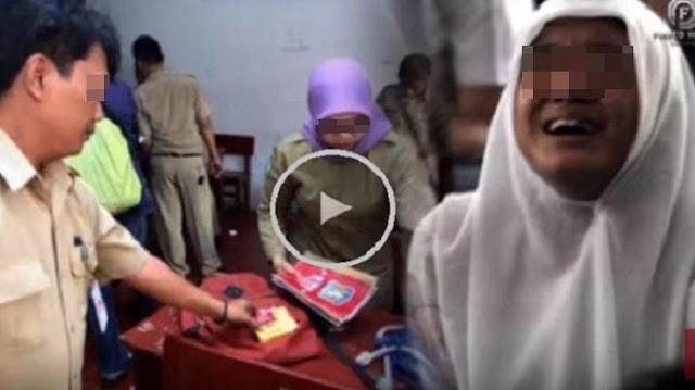 Razia Mendadak, Siswi SMA Ini Mati-matian Enggan Buka Tasnya. Isinya Diluar Dugaan