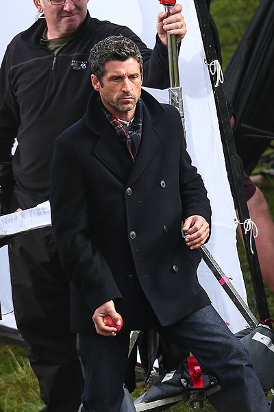 "Patrick Dempsey in the film ""Bridget Jones ' Baby"""