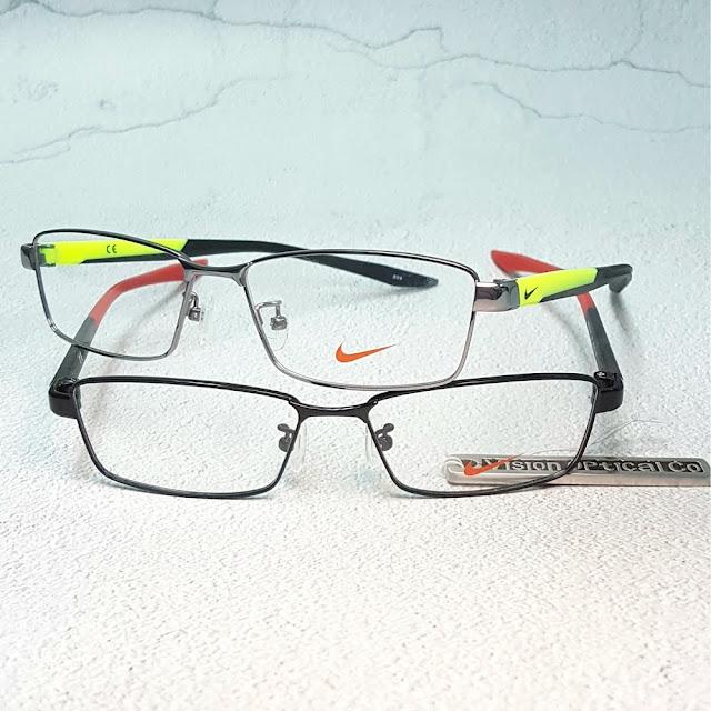 NIKE 8127AF 運動金屬眼鏡