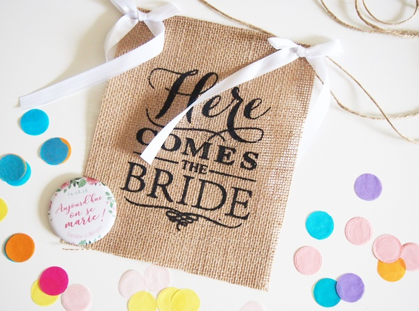Sweet Wedding Box : Enjoy me, Beautiful me et Marry me