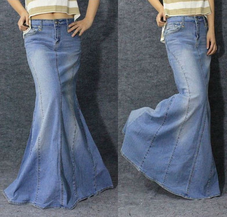 Jean Long Skirt 52