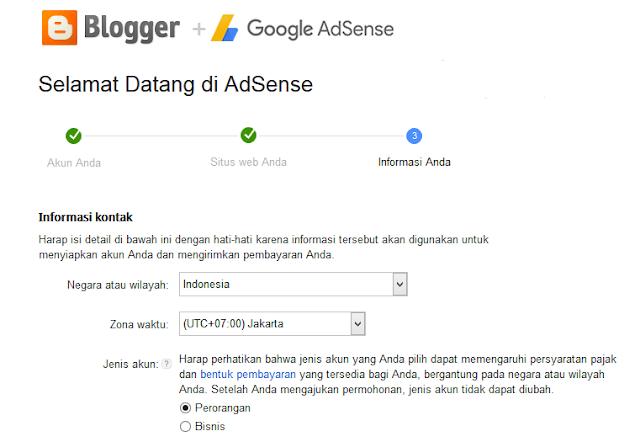 Cara Mudah diterimah Google Adsense dan Menghasilkan Uang di internet