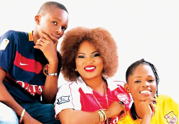 'The fact that I lost my husband does not make me a single parent' - Actress Regina Chukwu