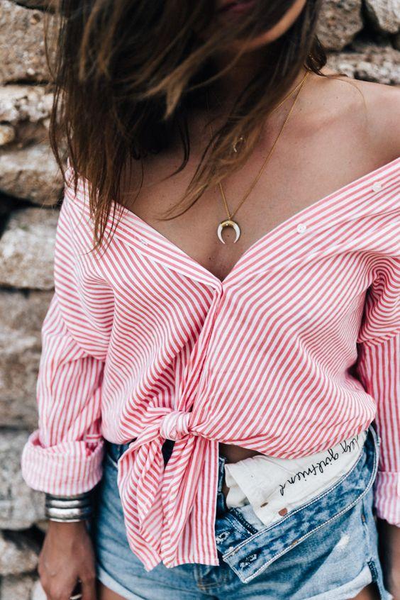 stripes looks style fashion