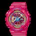 นาฬิกาข้อมือผู้หญิง CASIO สีชมพู นาฬิกา BABY-G BA-112-4A สายเรซิน
