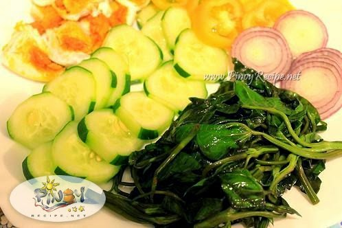 Filipino Kangkong Salad Recipe Food Recipe Library