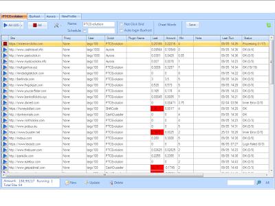 برنامج خرافي للضغط على إعلانات مواقع PTC أوتوماتيكيا (نسخة جديدة)