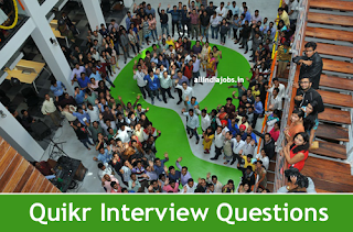 Quikr Interview Questions