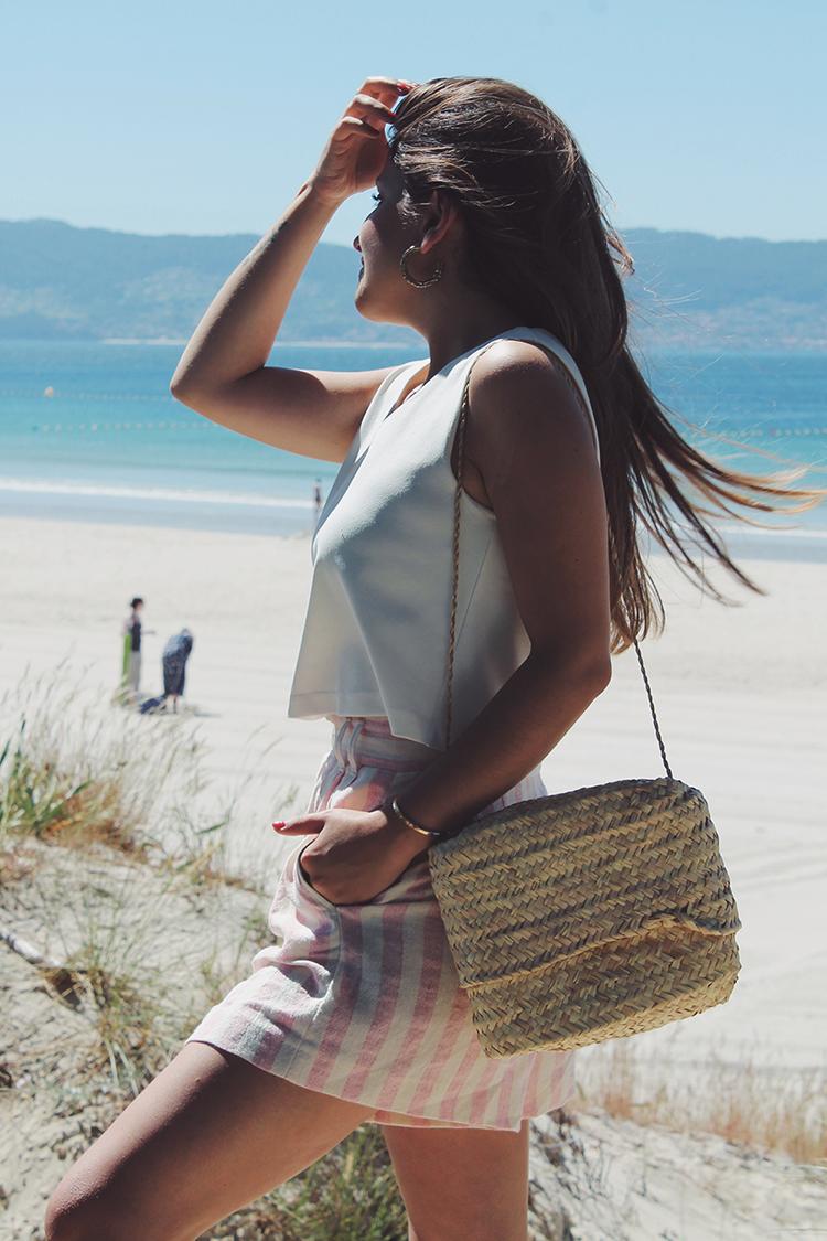 look moda verano shorts rayas