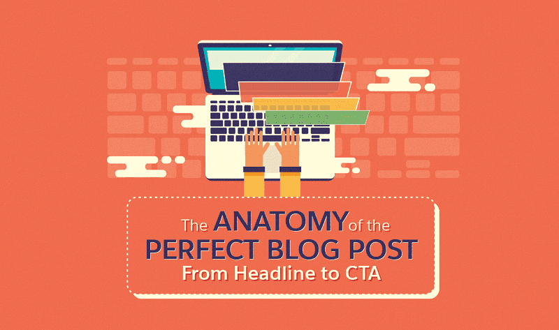 The Anatomy Of The Perfect Blog Post From Headline To CTA - #infographic