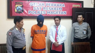 Suryanto,Pelaku Aborsi Berhasil Di ringkus Polisi