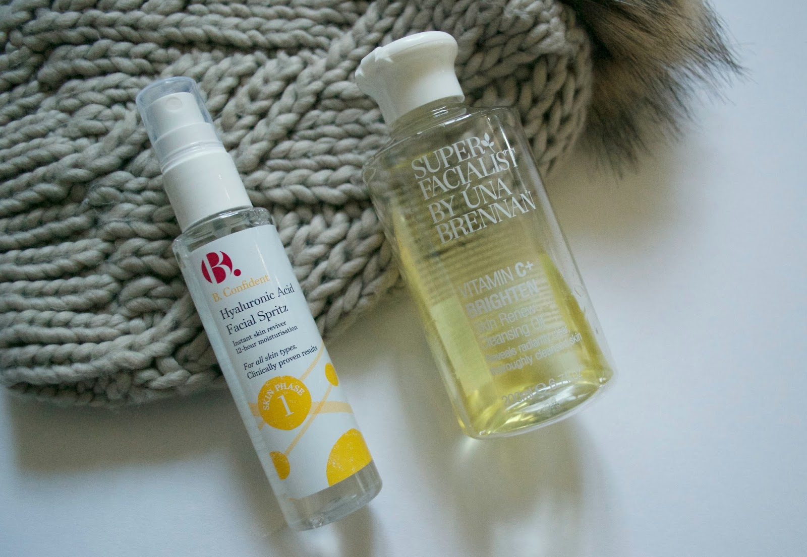 Superfacialist Cleansing Oil + B. Confident Hyaluronic Acid Facial Spritz Review - Aspiring Londoner