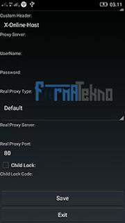 Cara Terbaru Internet Gratis di Android Menggunakan Psiphon A+ Pro Black