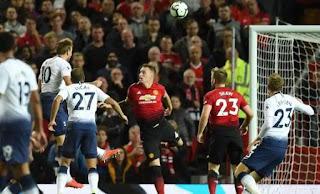 Susunan Pemain Tottenham Hotspur vs Manchester United