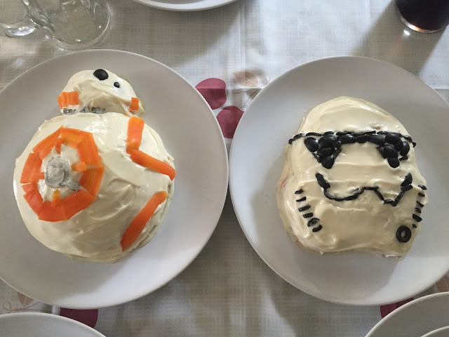 Receta de Ensaladilla Rusa Star Wars BB8 STORM TROOPER
