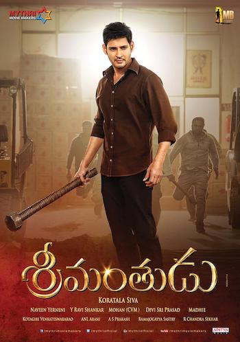 Srimanthudu 2015 HDRip 720p Dual Audio Hindi 1.2GB