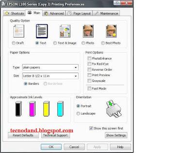 Cara Mengisi Tinta EPSON L100 Tanpa SERIAL NUMBER