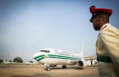 President Muhammadu Buhari  returned to Abuja from  ten-day vacation in London. tttt