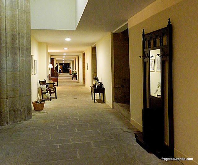Hospedaria San Martín Pinário, em santiago de Compostela
