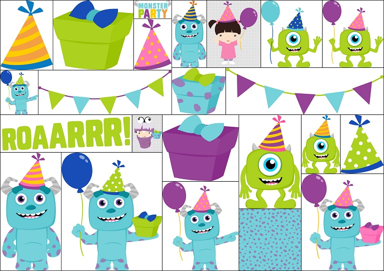 Pin by Allison on Bambini | Cute monsters, Monster clipart, Monster creator