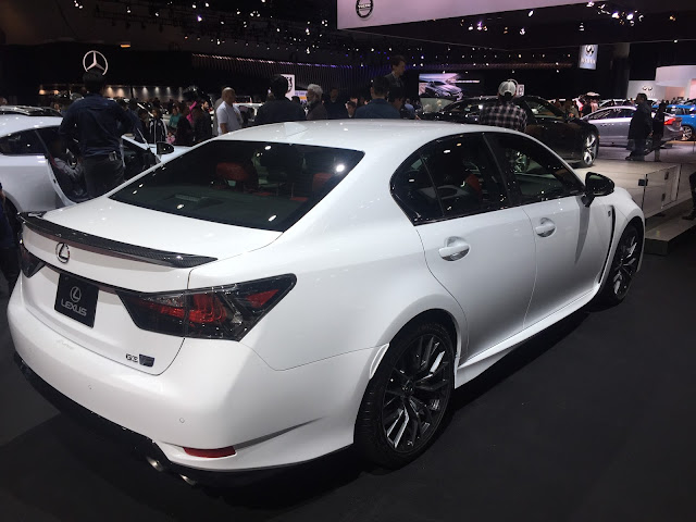 Lexus GS F 2016 LA Auto Show