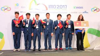 4 Negara Yang Paling Banyak Memenagnkan Olimpiade Matematika