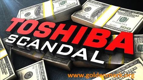 www.goldenmark.com - Toshiba đối mặt với khủng hoảng sau bê bối gian lận kế toán