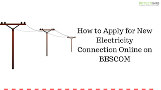 How to Apply for New Electricity Connection Online on BESCOM