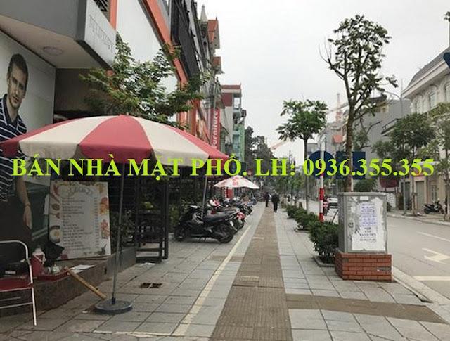 Bán nhà mặt phố Trương Công Giai, Cầu Giấy