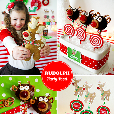 Rudolph Holiday Party | Cute Food Recipes for Kids