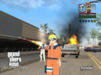 Kode Cheat GTA Naruto Shippuden