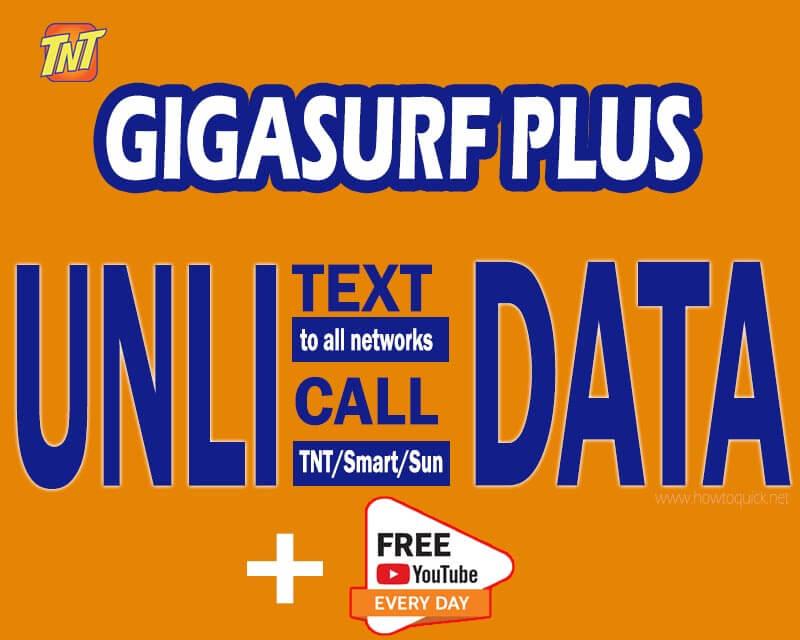 TNT Gigasurf Plus