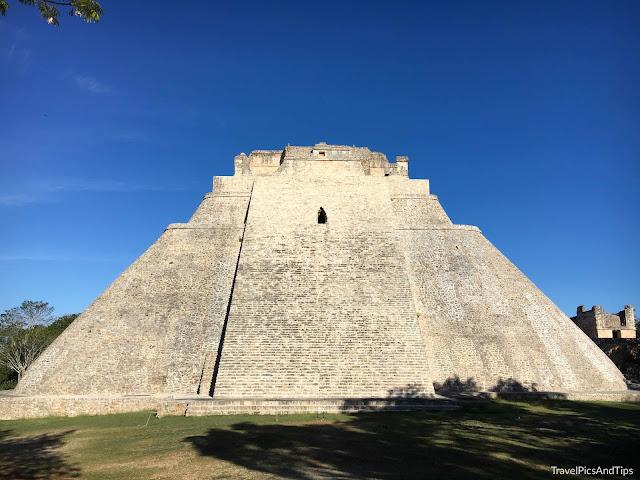 Pyramide du Devin, Uxmal, Ruta Puuc, Mexique
