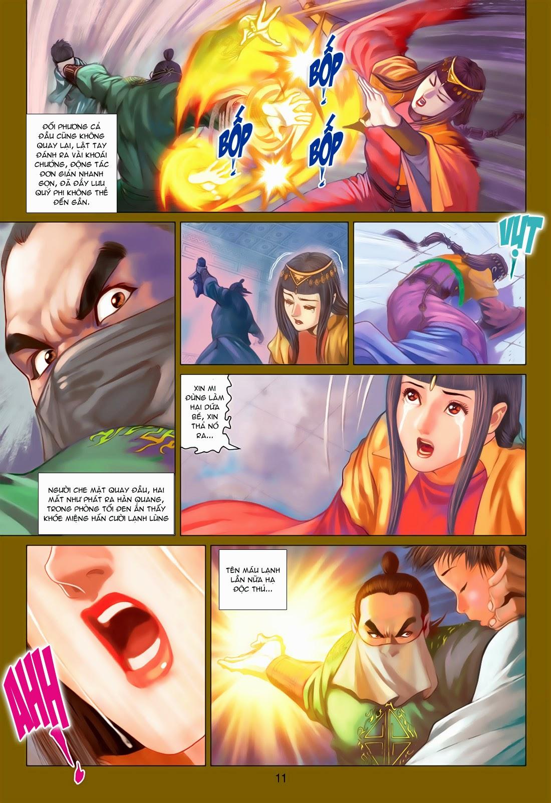 Anh Hùng Xạ Điêu anh hùng xạ đêu chap 78: sát anh trang 11