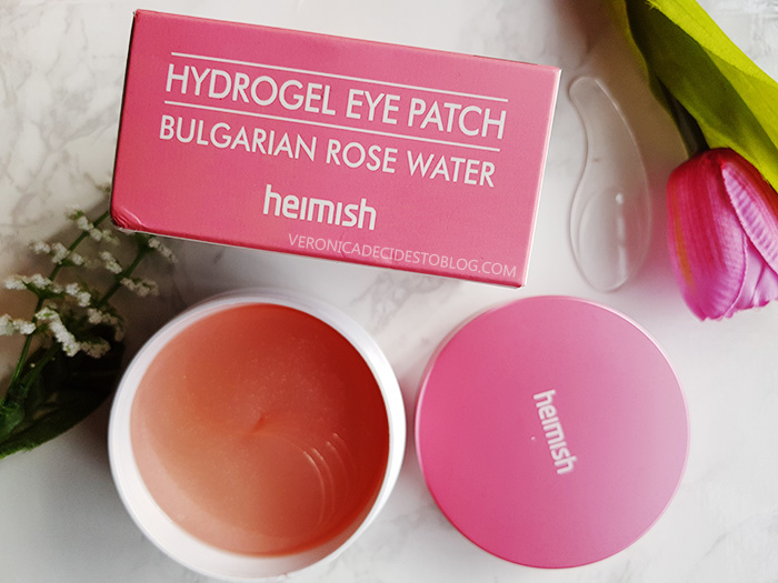 Heimish Bulgarian Rose Water Hydrogel Eye Patches