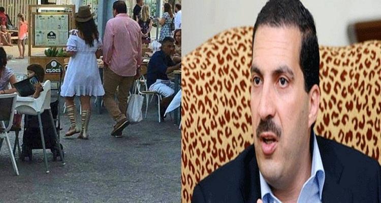 كلام لا يصدق من عمرو خالد بعد تداول صورته مع زوجته الجديدة المتبرجة