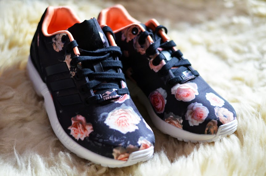 NEW IN: ADIDAS ZX FLUX ROSES PRINT ❤