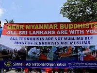 Umat Budha Serbu Tempat Penampungan Muslim Rohingya yang Dilindungi PBB