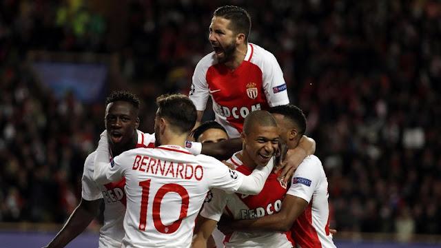 Kalahkan Dortmund 3-1, Monaco Mantap ke Semifinal